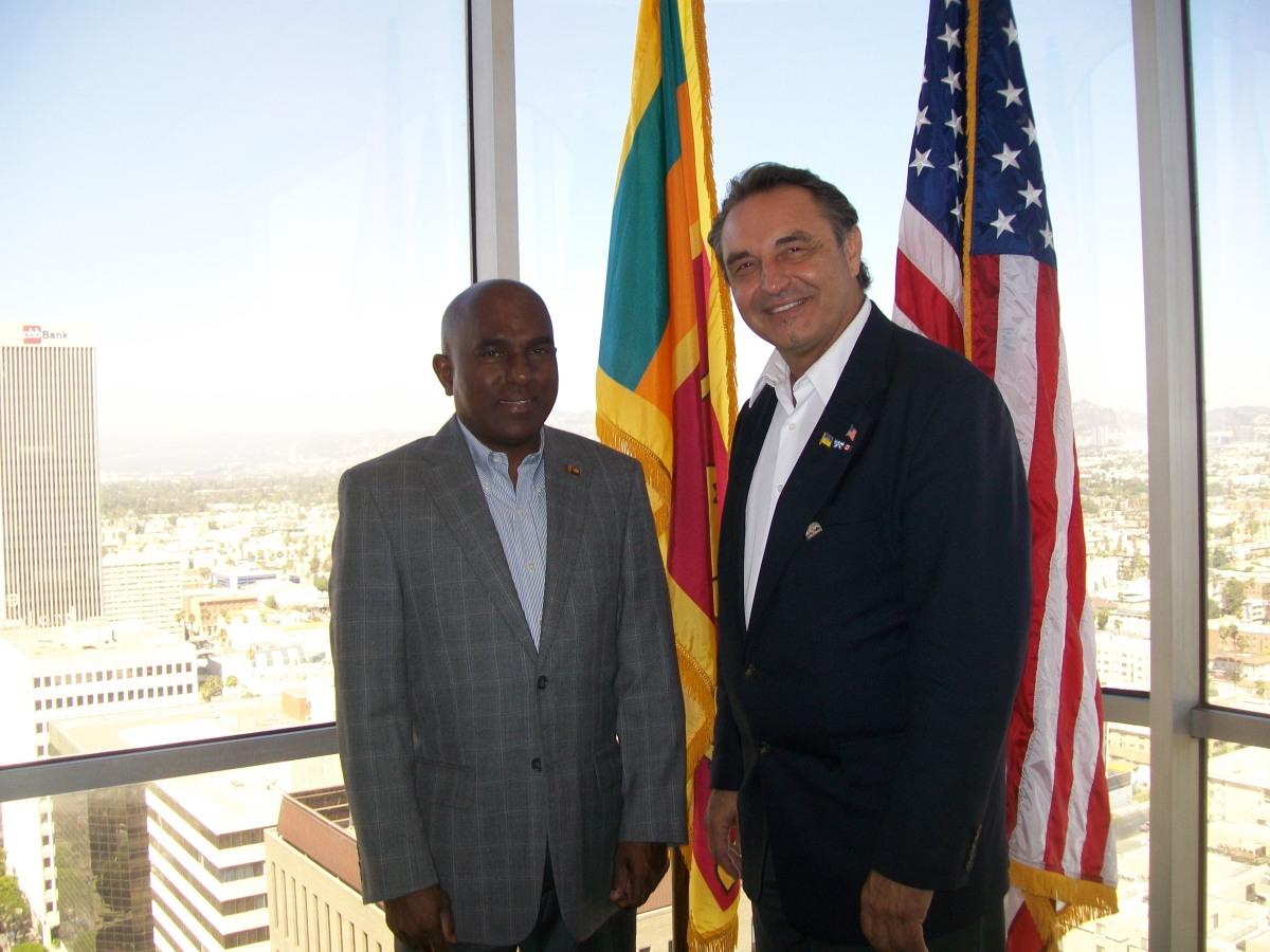 Sri Lanka Malaj De Silva Consul General