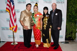 Vietnam atending our event at the 1010 wilshire 2014