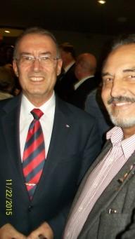 Supports the LA.Folklorama project Bulgarian Consul general