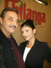 talk show host (Carmen) Chilanga Radio