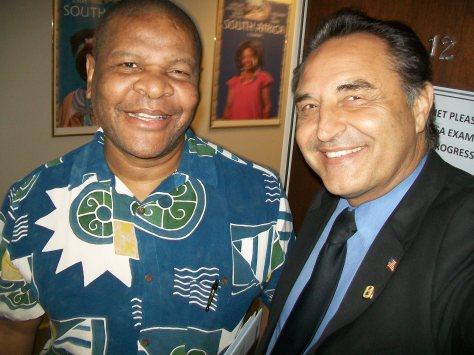 Consul General Cyril S. Ndaba