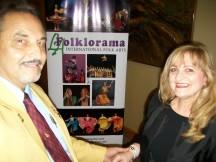 Author Marina Nani and Gaston Mantero
