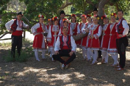 Bulgarian Performers ready to present their culture to You