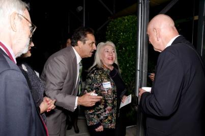 Dr. Maria Simms meeting John Bollinger