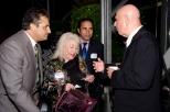 Dr Maria Simms John Bolinger and Antonia . Gillini