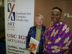Lynn Crandall and Mother Nehanda Sankofara