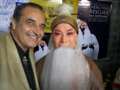 Actor Gongsun Chujiu at the Hollywood premiere of Cheng Ying
