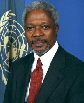 Sec. UN. Mr.Kofi Annan